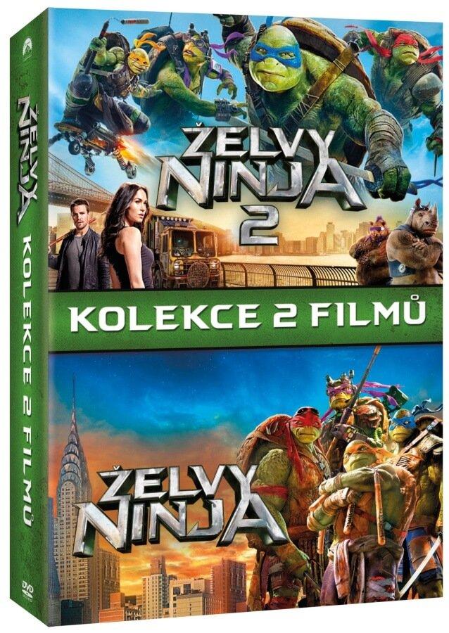Želvy Ninja 1+2 - kolekce (2xDVD)
