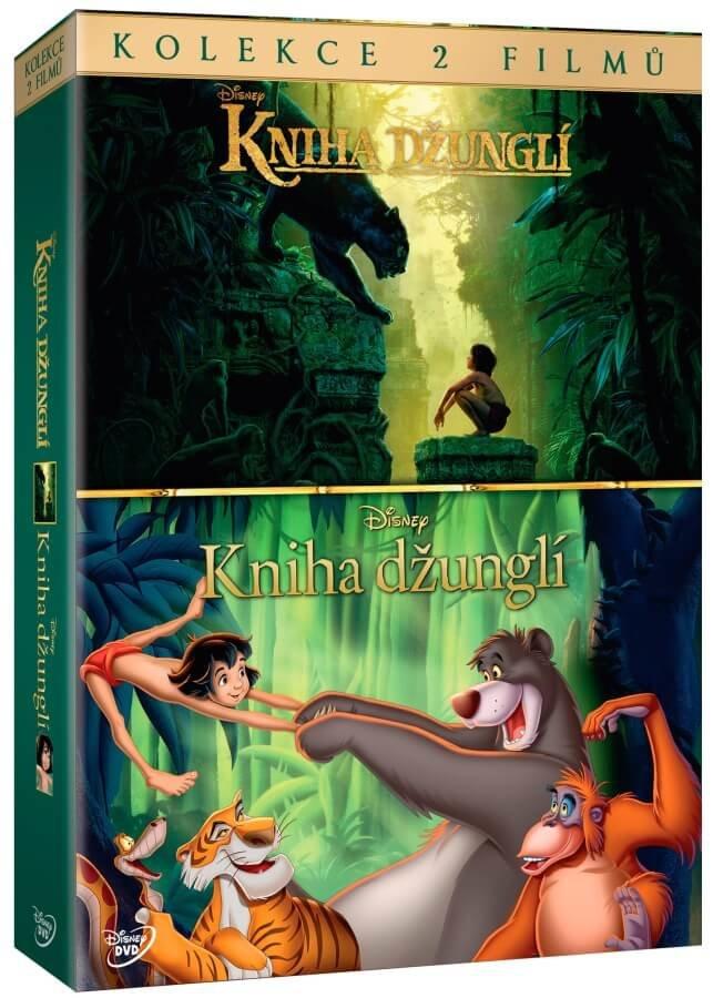 Kniha džunglí - kolekce (2xDVD)