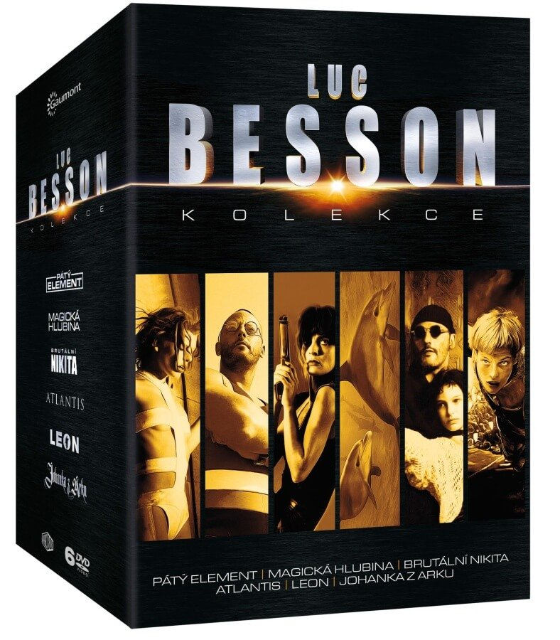 Luc Besson - kolekce (6xDVD)