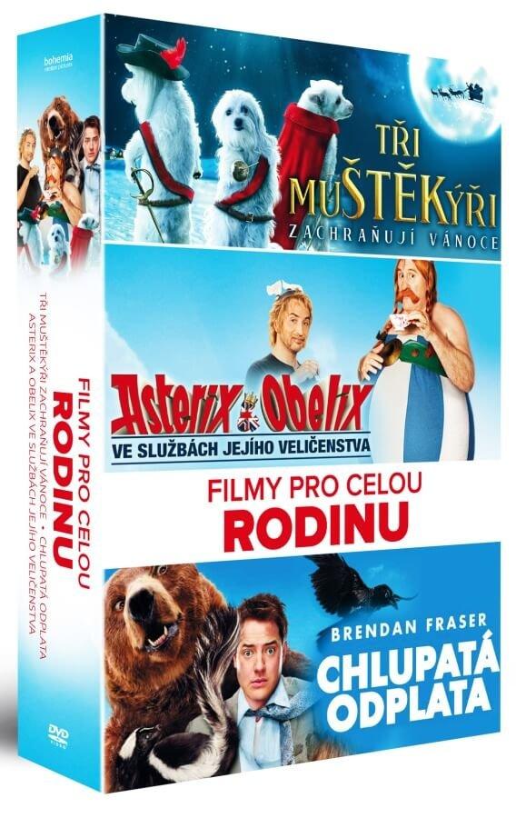 Filmy pro celou rodinu kolekce (3 DVD)
