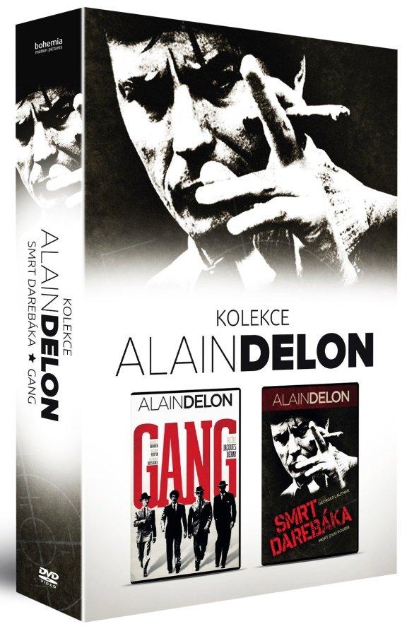 Alain Delon - kolekce (Gang / Smrt darebáka) - 2xDVD