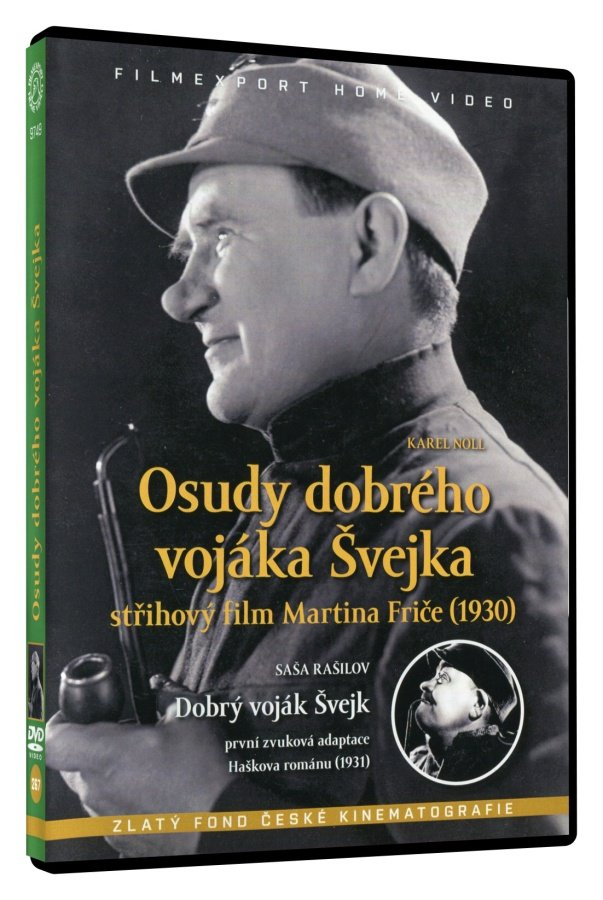 Osudy dobrého vojáka Švejka (1930) + Dobrý voják Švejk (1931) (DVD)