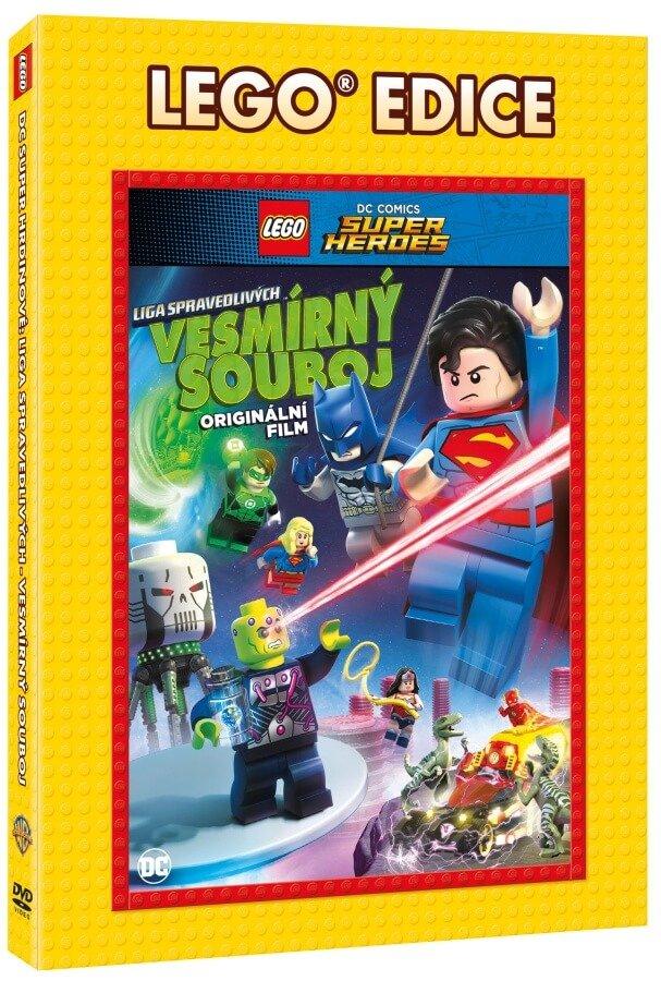 Lego DC Super hrdinové: Vesmírný souboj (DVD) - edice Lego filmy
