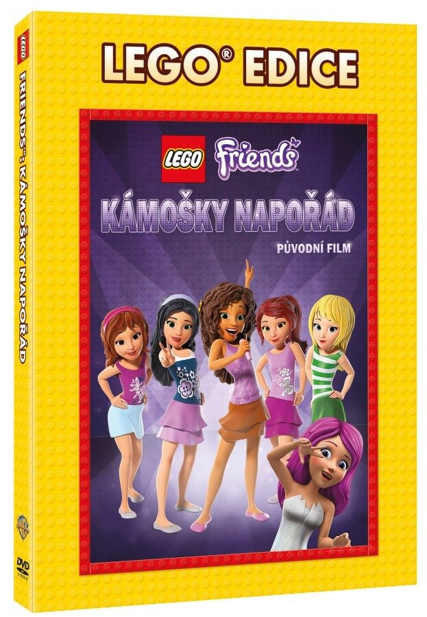Lego Friends: Kámošky napořád (DVD) - edice Lego filmy