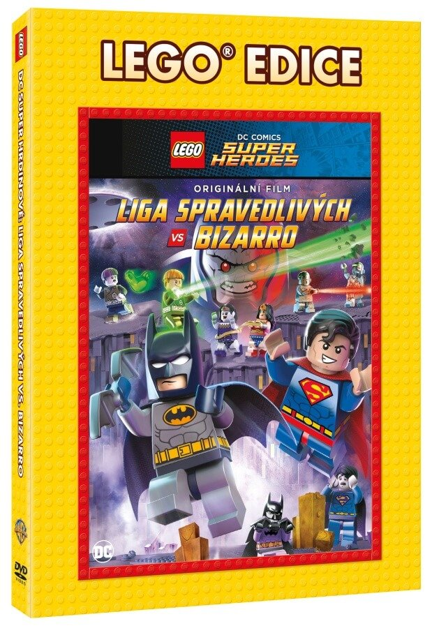 Lego: DC - Liga spravedlivých vs Bizarro (DVD) - edice Lego filmy