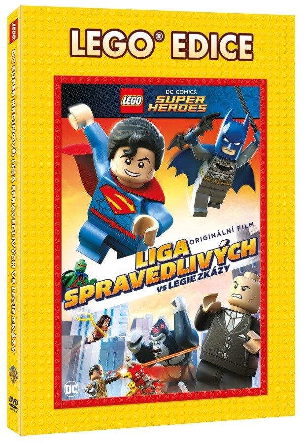 Lego: Liga spravedlivých vs Legie zkázy (DVD) - edice Lego filmy