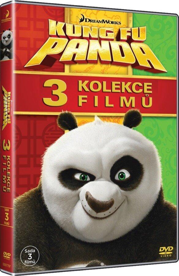 Kung Fu Panda 1-3 - kolekce (3 DVD)