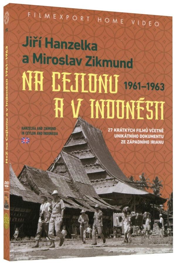 Jiří Hanzelka a Miroslav Zikmund na Cejlonu a v Indonésii (2x DVD)