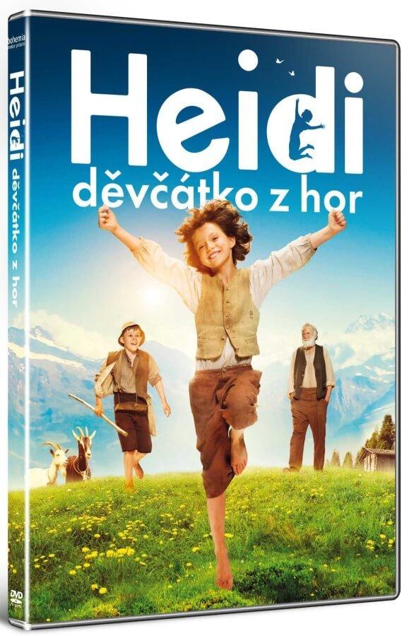 Heidi, děvčátko z hor (DVD)