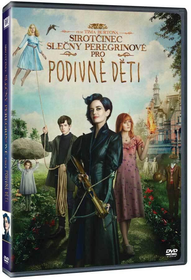 Sirotčinec slečny Peregrinové pro podivné děti (DVD)