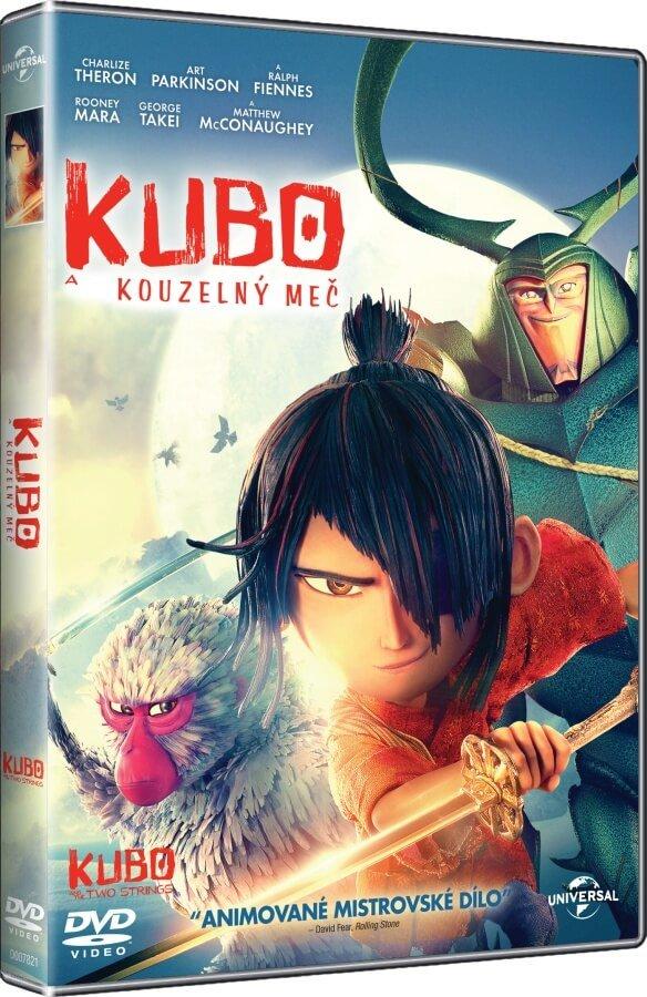 Kubo a kouzelný meč (DVD)