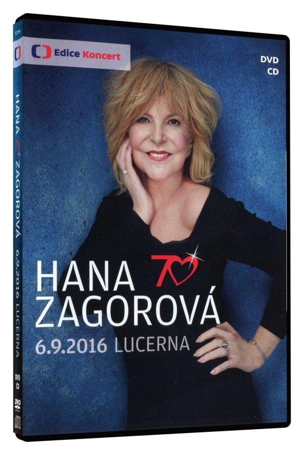 Hana Zagorová 70 (DVD / CD) - záznam koncertu (Lucerna 6.9.2016)