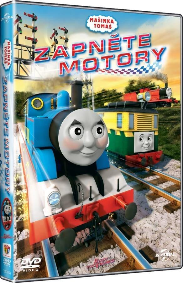 Mašinka Tomáš: Zapněte motory (DVD)