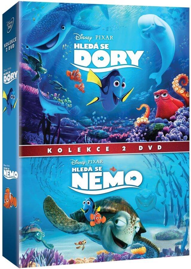 Hledá se nemo / Hledá se Dory - kolekce (2xDVD)