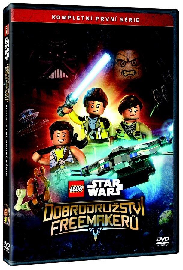 Lego Star Wars: Dobrodružství Freemakerů 1. série - 2xDVD
