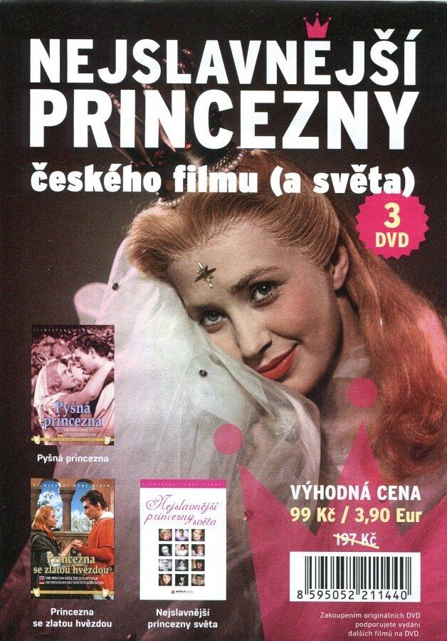 Nejslavnější princezny českého filmu (a světa) - kolekce - 3xDVD