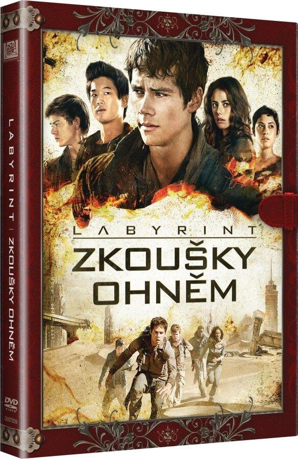Labyrint: Zkoušky ohněm (DVD) - KNIŽNÍ EDICE