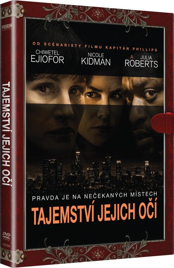 Tajemství jejich očí (DVD) - KNIŽNÍ EDICE