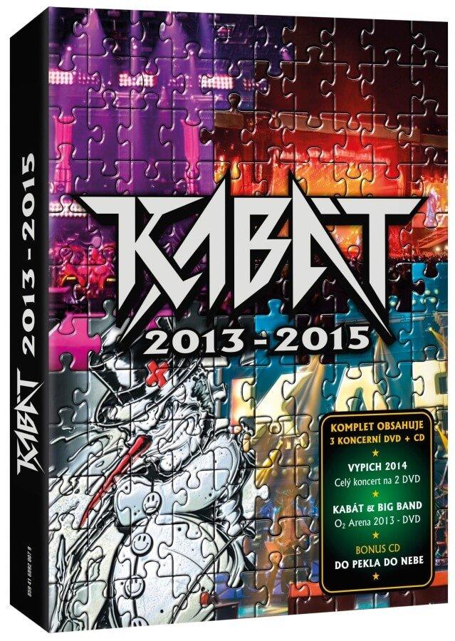 Kabát 2013-2015 (3xDVD / 1xCD)