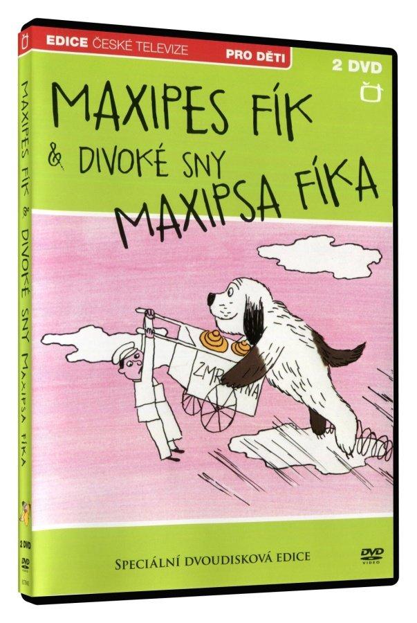 Maxipes Fík / Divoké sny Maxipsa Fíka - kolekce (2xDVD)