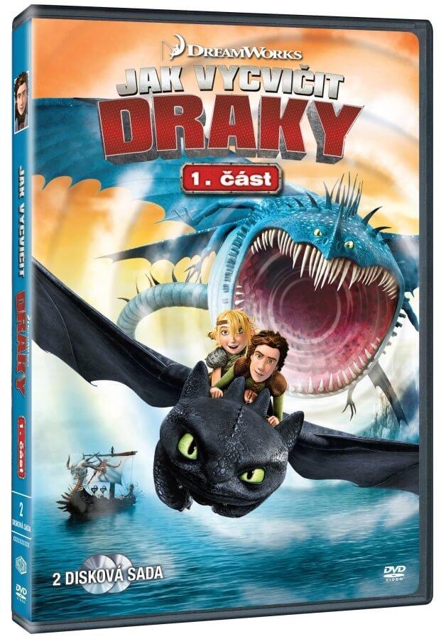 Jak vycvičit draky (1. série) - 2xDVD