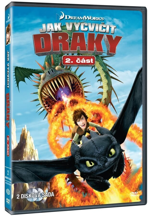 Jak vycvičit draky (2. série) - 2xDVD