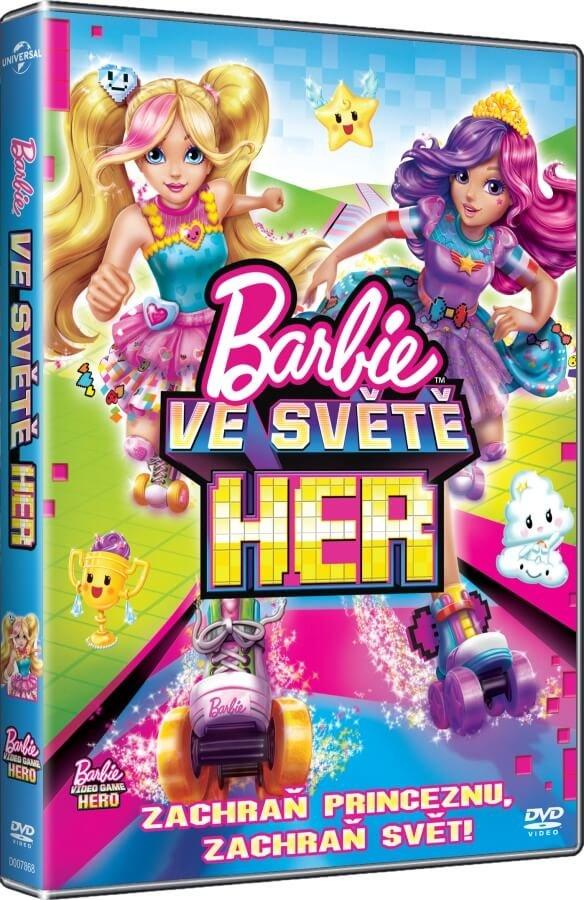 Barbie: Ve světě her (DVD)