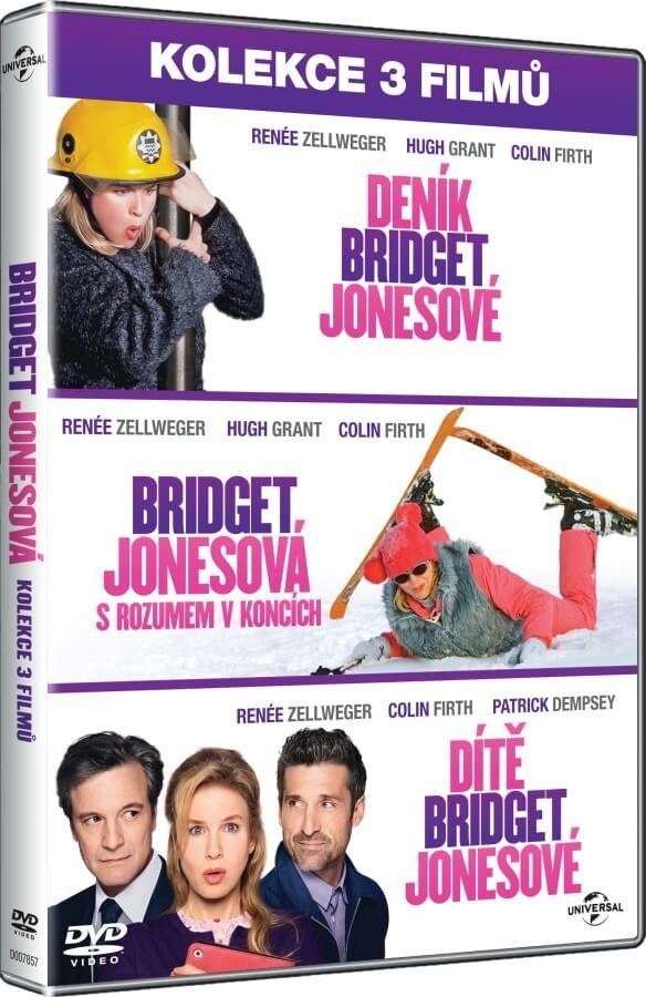 Bridget Jonesová kolekce (3xDVD)