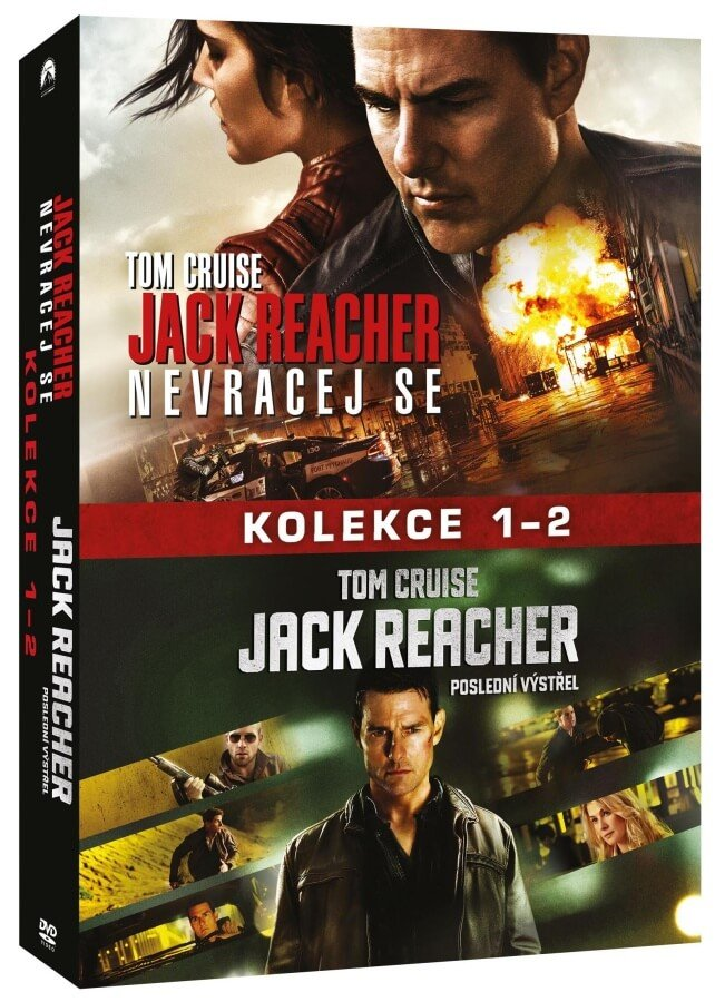 Jack Reacher kolekce 1-2 (2xDVD)