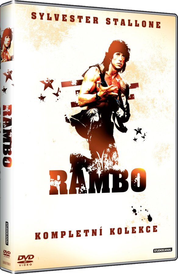 Rambo kolekce 1-3 (3 DVD)