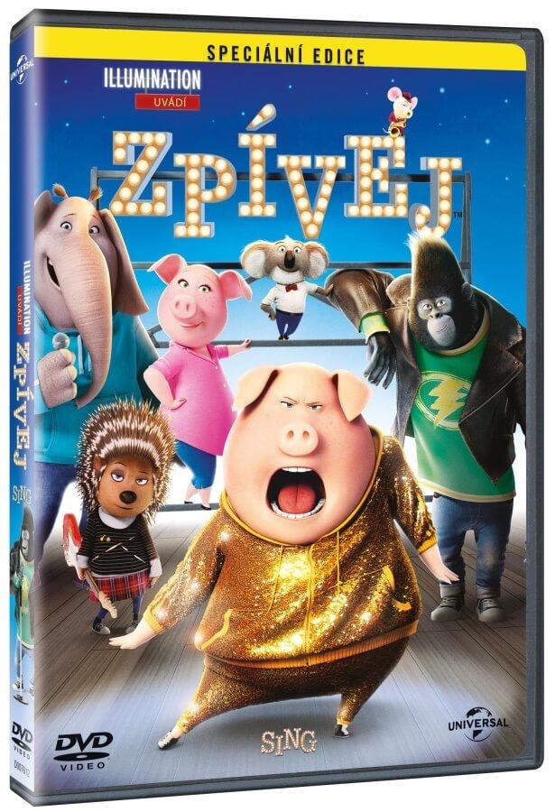 Zpívej (DVD)
