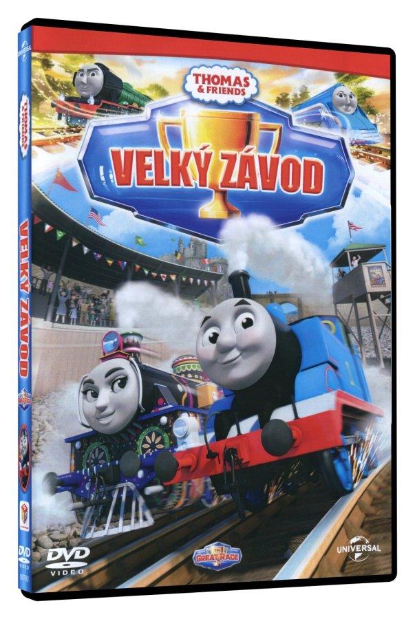 Lokomotiva Tomáš: Velký závod (DVD) - nové epizody 2016