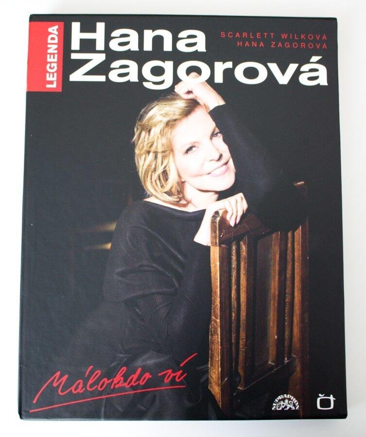 Hana Zagorová, Legenda - Málokdo ví (Kniha / DVD / CD)