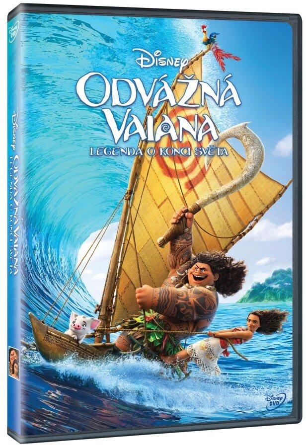 Odvážná Vaiana: Legenda o konci světa (DVD)