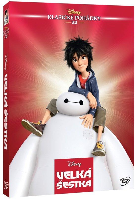 Velká šestka (DVD) - Edice Disney klasické pohádky