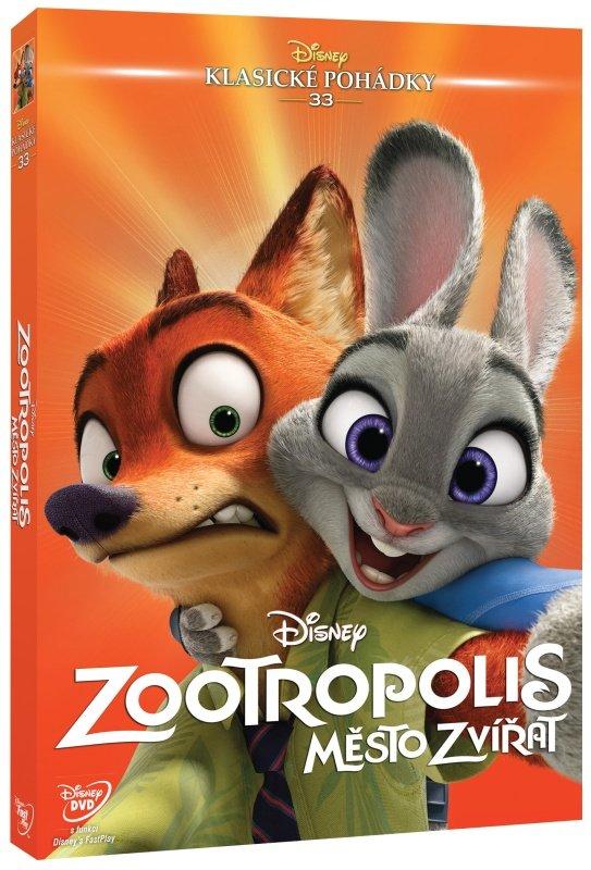Zootropolis: Město zvířat (DVD) - Edice Disney klasické pohádky
