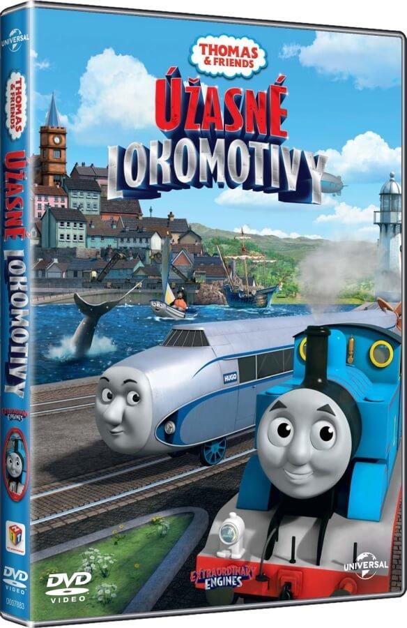 Lokomotiva Tomáš: Úžasné lokomotivy (DVD) - nové epizody 2016