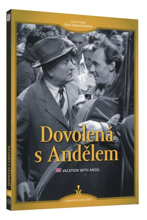 Dovolená s Andělem (DVD) - digipack
