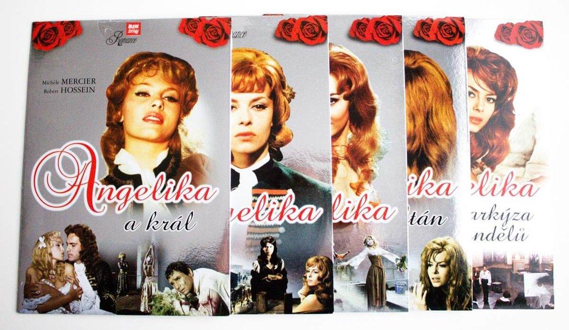 Angelika - kolekce (5xDVD) (papírový obal)