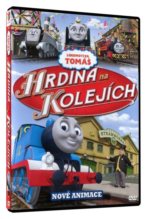 Lokomotiva Tomáš: Hrdina na kolejích (DVD)