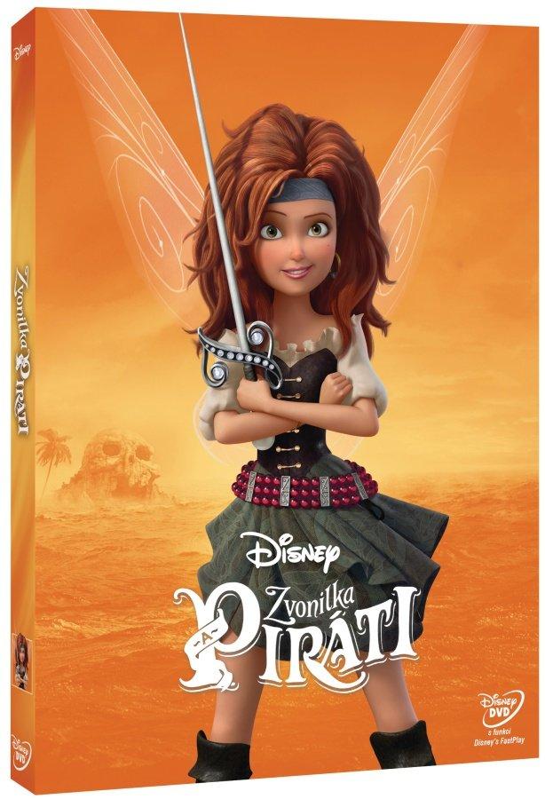 Zvonilka a piráti (DVD) - edice Disney Víly