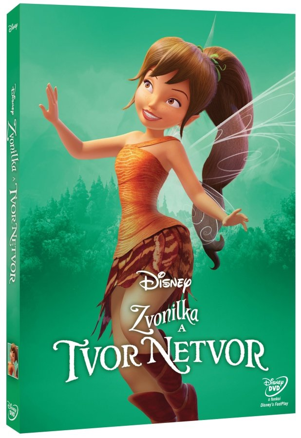 Zvonilka a tvor Netvor (DVD) - edice Disney Víly