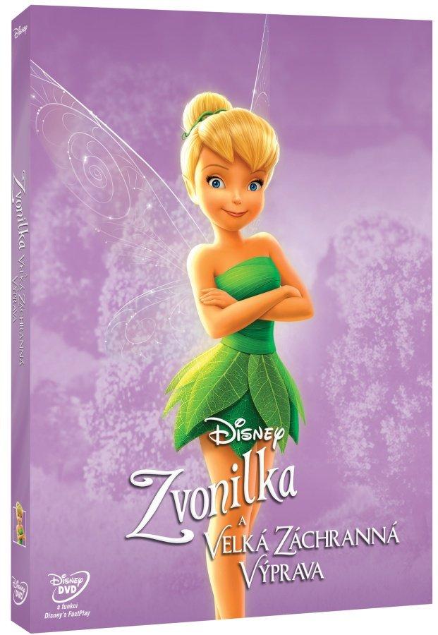 Zvonilka a velká záchranná výprava (DVD) - edice Disney Víly
