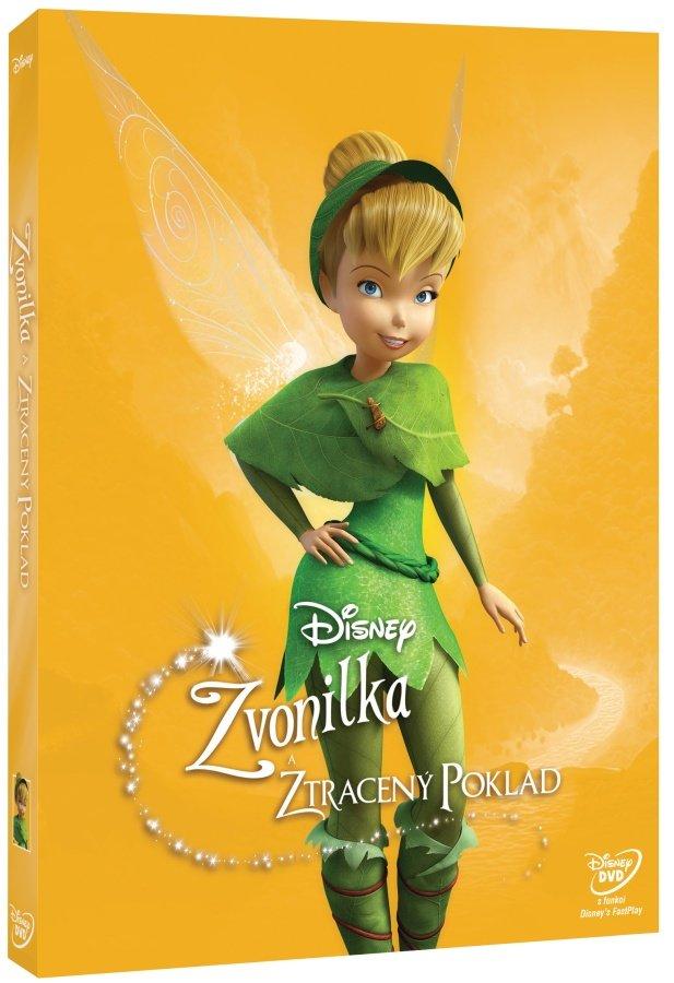 Zvonilka a ztracený poklad (DVD) - edice Disney Víly