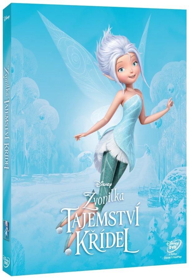 Zvonilka: Tajemství křídel (DVD) - edice Disney Víly