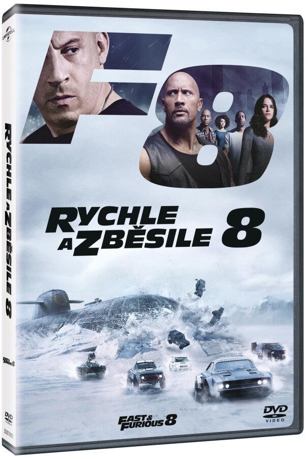 Rychle a zběsile 8 (DVD)