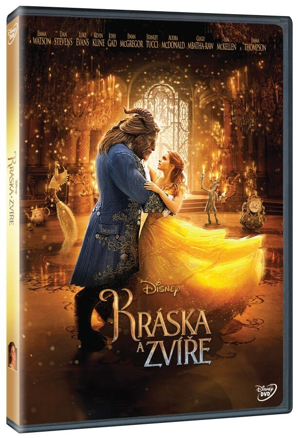 Kráska a zvíře (2017) (DVD) - nové filmové zpracování