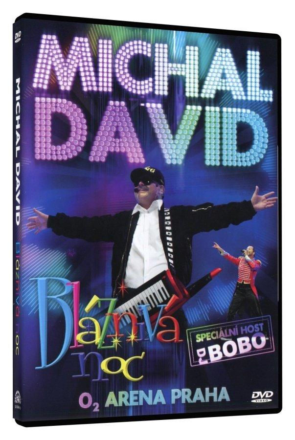Michal David - Bláznivá noc (DVD) - záznam koncertu, O2 Arena Praha