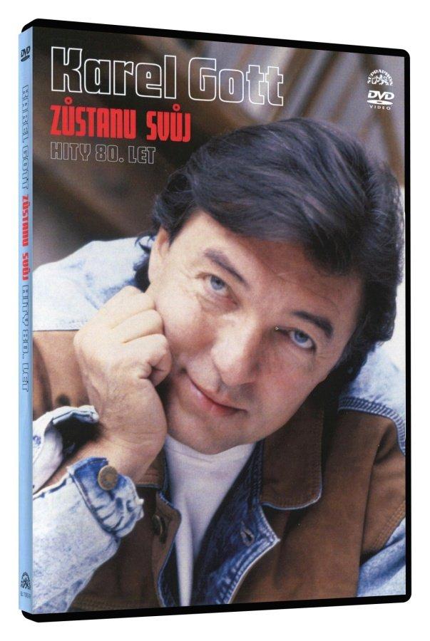 Karel Gott - Zůstanu svůj - hity 80. let (DVD)