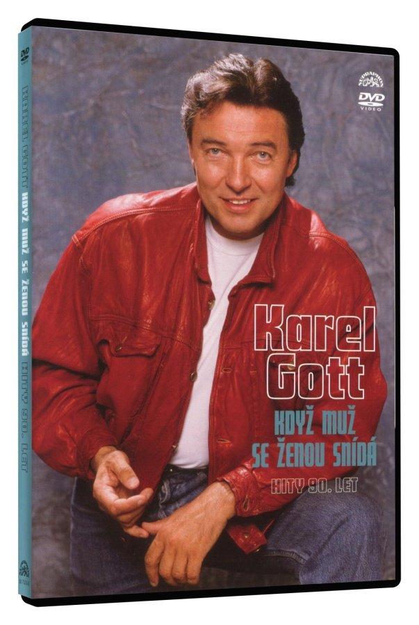 Karel Gott - Když muž se ženou snídá - hity 90. let (DVD)
